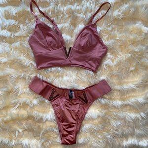 Victoria's Secret V Bralette & Panty Set